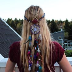 Things to weave into braids-love this!!