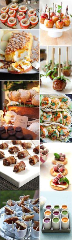 fall wedding food ideas-fall wedding appetizers - Deer Pearl Flowers