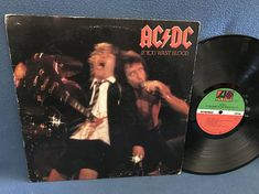Rare Vintage AC/DC  If You Want Blood You've Got