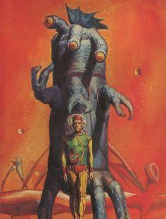 Old School Sci fi art.. love it! http://www.CuratedScienceFiction.com | #SciFi #Art #Inspiration