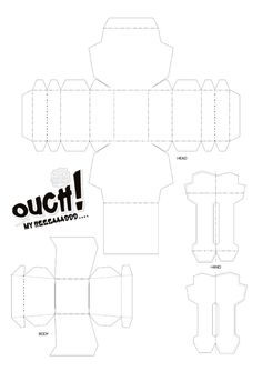 Blog_Paper_Toy_papertoy_Ouch_My_Head_blank_template_preview
