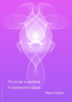 Try to be a rainbow in someone's cloud. –Maya Angelou http://quotemirror.com/s/skspx #joy #rainbow