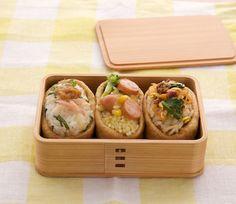 I love the wooden bento box.