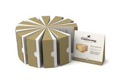 Packaging Creativo para Quesos: Vildenvang Gårdsysteri || Diseñado por: Tank, Noruega