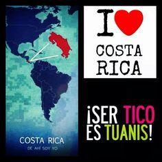 <3 Costa Rica!