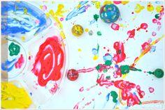 bouncy ball art