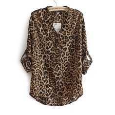 HPLeopard button down shirt HP 6/10 workweek chicSimply gorgeous! This long sleeve button down leopard shirt is so sexy, silky smooth, and versatile. Sleeves can be rolled up as shown, snaps on shoulder, V neck, rayon. Brand new with tags. Retail for €50 Euro ❤️The pictures are the actual shirt  Only size S (fits 2-4) left. ❤️Make me an offer! I discount bundles❤️ No trade, No PayPal ✋ Boutique Tops Button Down Shirts