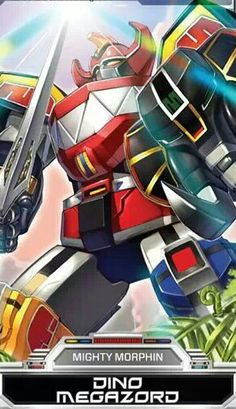 Power Rangers Dino Megazord
