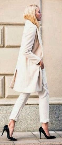 Cream Street Chic Coat