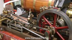 FINISHING THE PIPING AND A TEST RUN OF THE STUART VICTORIA STEAM PLANT - YouTube