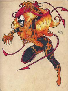 #akujin #scream #symbiote #spiderman #marvel