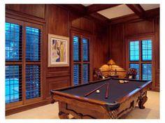 billiards (pool table) room