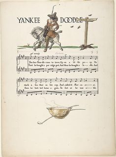 "Paul Vincent Woodroffe | ""Yankee Doodle""―Page Design 
