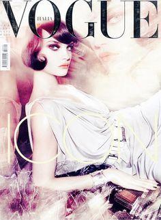 ♥ Vogue Italia Cover Natalia Vodianova