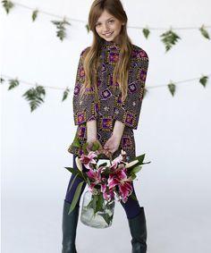 Twiggy New Vintage Dress by berits lilla! Photo by A to Zane