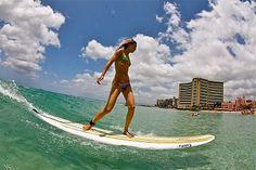 FAITH SURF SCHOOL. Tony Moniz and the Moniz Family!: Roxy Models go Surfing!