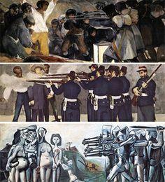 Fusilamientos Goya - Masacre Corea Picasso