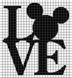 Disney Love (Graph AND Row-by-Row Written Crochet Instructions) - 02- <p>This crochet graphghan pattern is 135 x 146 squares and comes with the written row-by-row instructions as well as the graph. You do NOT have to know how to follow a graph to crochet this! There are also tips included to help you with your project. Color names are <em>suggestions only</em> and do not refer to any particular brand of yarn. The size of the blanket will depend on your gauge/hook size and yarn. Due to the…
