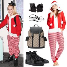 JoJo Siwa Clothes & Outfits | Steal Her Style Jojo Hair Bows, Jojo Bows, Jojo Siwa Outfits, Girl Outfits, Adidas Tracksuit, Barbie, Top Celebrities, Cute Casual Outfits, Her Style
