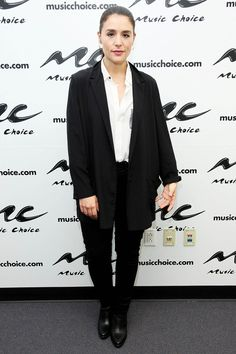 Jessie Ware's menswear inspired look is just as classic as her musical influences as seen on Harper's Bazaar UK.