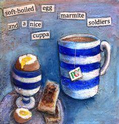 I love marmite Marmite, The 100, My Arts, British, Cook, Tea, Illustration, Illustrations, Teas