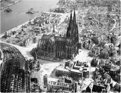 ALEMANHA - Colônia destruída durante a Segunda Guerra Mundial