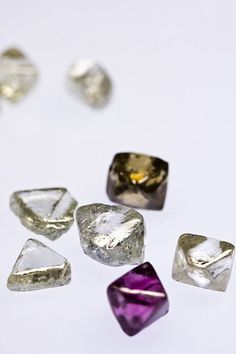 Rough diamonds from the Argyle Diamond Mine Argyle produces diamonds in a range of colours, including white and champagne, but it is renowned as the world's only consistent producer of rare pink diamonds.