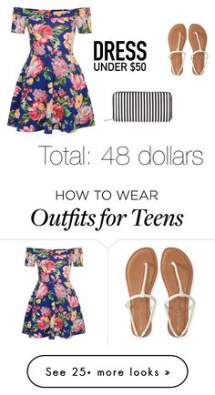 """Untitled #38"" by magicnoblett on Polyvore featuring New Look, Aéropostale and Dressunder50"