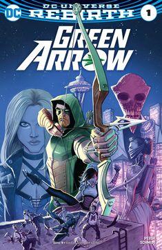 Green Arrow superhero DC comics.