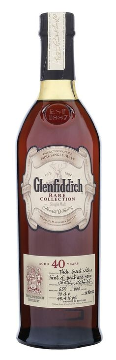 Glenfiddich 40yo Pare Collection #whiskydrinks