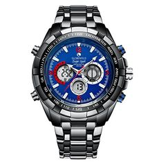 Globenfeld Super Sport Blue 2.0 Mens Watch - Chronograph ... https://www.amazon.co.uk/dp/B078TL736C/ref=cm_sw_r_pi_dp_U_x_XiRGAb891BQT1 Lovely heavy stylish good quality watch , ideal for a gift for a special occasion , comes in a high quality presentation box . Looks and feels very impressive  with its analogue and digital display .  5 year warranty and a 60 day risk free  no-questions-asked money back guarantee .