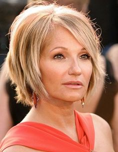 Love this look!   If I ever go short again, I'd do this... Maybe even blonde, easier to manage all the gray hair I'm getting!!!