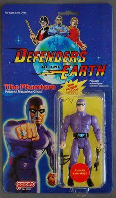 Defenders of the Earth-Flash Gordon Mandrake Phantom personajes