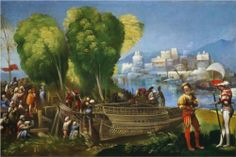 Aeneas and Achates on the Libyan Coast - Dosso Dossi