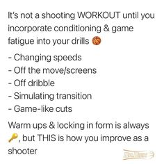 Make sure you are incorporating conditioning & game fatigue into your drills so you are ready when you step on the court for game time. #basketball #basketballdrills #basketballplayer #womensbasketball #collegebasketball #bball #drdishbasketball #basketballnet #basketballballs