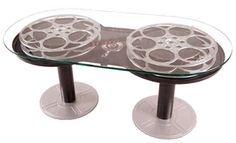 Double Reel Coffee Table