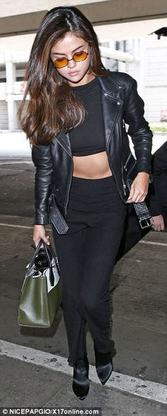 9e036a3a66 Off duty pop star  A cropped top and matching trousers
