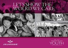 Jeunesse Kids. Helping children all over the world to a better life.