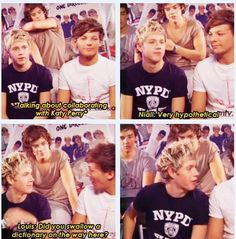 Ha! :) he's smart, Louis! ;) we don't need your sass! ;) haha just kidding