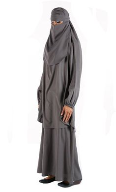 Niqab outfit $34.99 Colors: Black, Green, Grey, White, Light Blue, Turquoise