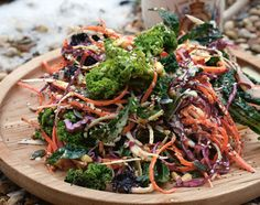 """Delicious Winter Salad   """"This is really nice served with a simple pasta, with leftover cold meats, in a sandwich or with a simple jacket potato and knob of butter. Any leftovers can be kept in the fridge then served as a really posh coleslaw,"""" says Jamie."""