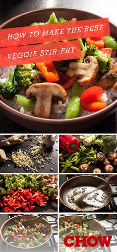 How to Make the Best Vegetable Stir-Fry - Chowhound Stir-fries have come a long way from the brown-sauced, crunchy cauliflower and rubbery chicken concoctions of years past. With a few simple techniques and. Chinese Vegetables, Fried Vegetables, Chicken And Vegetables, Veggies, Stir Fry Vegetables Healthy, Veggie Fries, Veggie Stir Fry, Chinese Vegetable Stir Fry, Chicken Vegetable Stir Fry