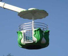 Ferris Wheel Amusement Basket Ride Cabin