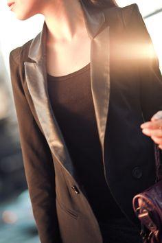 Gray Matter :: Structured blazer & Twisted skirt : Wendy's Lookbook