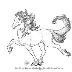 FREE Lineart - Iceland Pony by Darya87 on DeviantArt