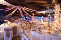 Blush Blue White And Burlap Wedding Colors Venue Mccormick Ranch Golf Club