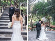 AN INTERTWINED EVENT: ELEGANT RANCHO LAS LOMAS WEDDING {Photo credit: Jasmine Star}