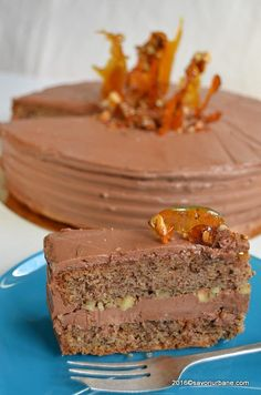 Sweets Recipes, No Bake Desserts, Just Desserts, Cookie Recipes, Cake Cookies, Cupcake Cakes, Romanian Desserts, Romanian Food, Torte Cake