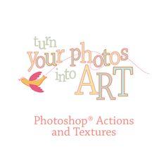 Photoshop Actions & Textures