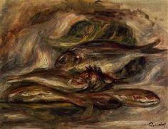 Fish - Pierre-Auguste Renoir